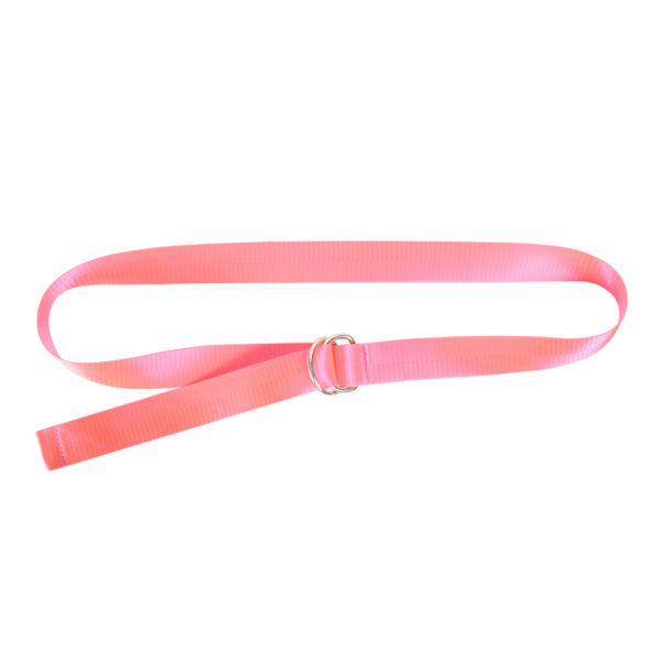 Canvas riem neon pink belt Abby