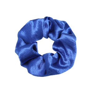 sweet as satin scrunchie blauw