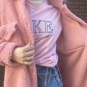 vintage sweater roze