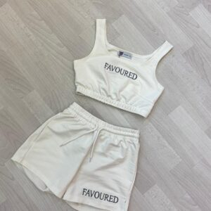 favoured set wit flat lay